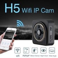 Mayitr 150 Degree H5 Wireless Mini Camera H 264 720P HD Wifi IP DV Camera IR