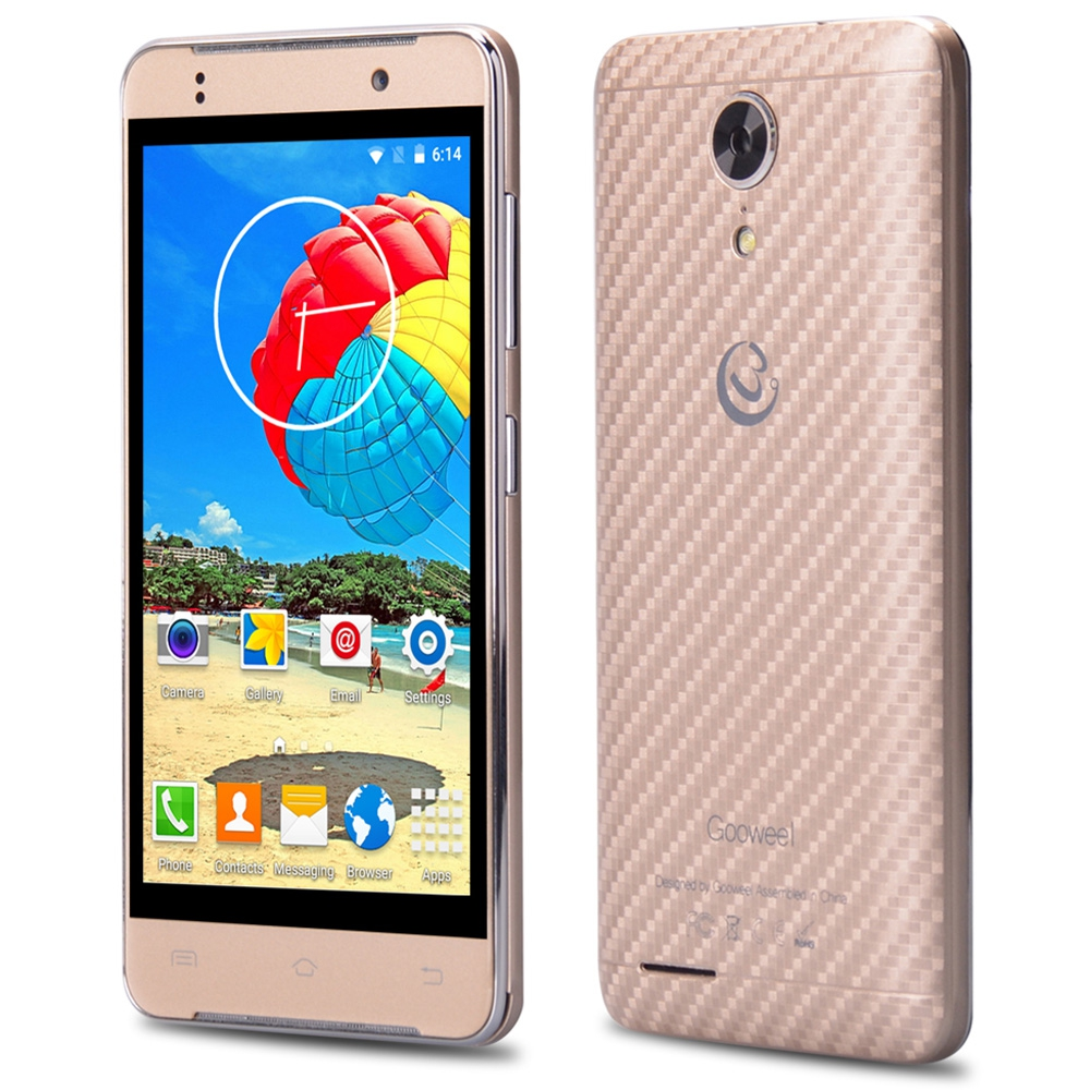 Gooweel M9 MINI 4 5 inch Android 5 1 3G GPS Smartphone MTK6580 Quad Core 1