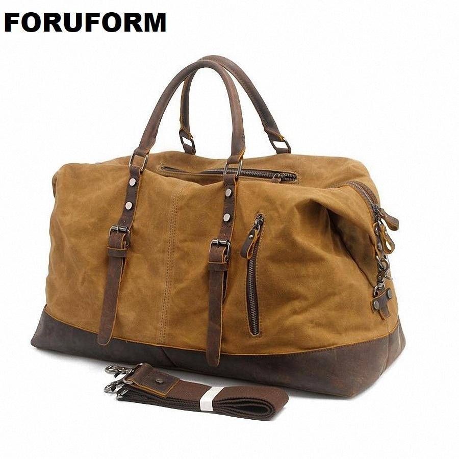 2018 Mens Travel Bags Casual Shoulder Bag Men Messenger Bags Large Handbag Waterproof Mens Travel Duffle LI-1260
