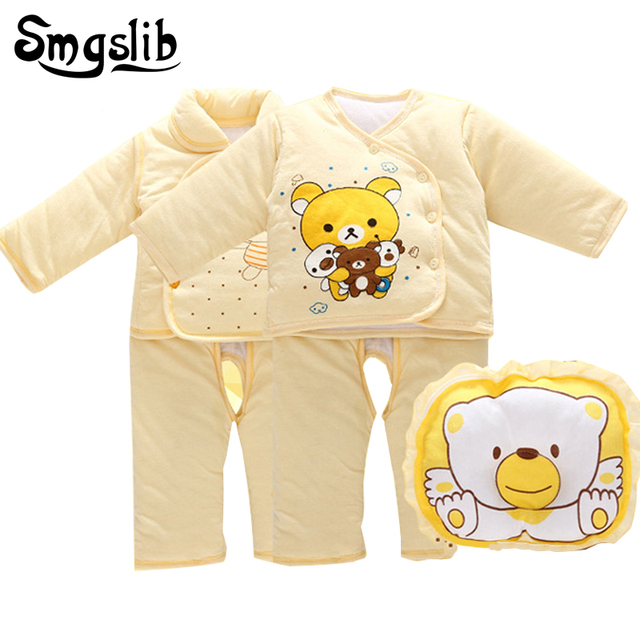 23b85d56f Smgslib 0 3 6 months Baby girl winter clothes Set Thermal Underwear ...