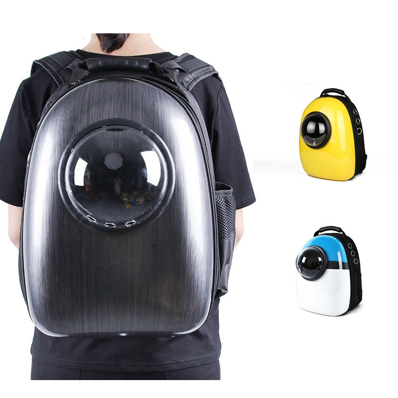 Outdoor Cat Dog Bag Space Capsule Pet Cat Dog Backpack  For Kitty Puppy Carrier Transporter Travel Bag