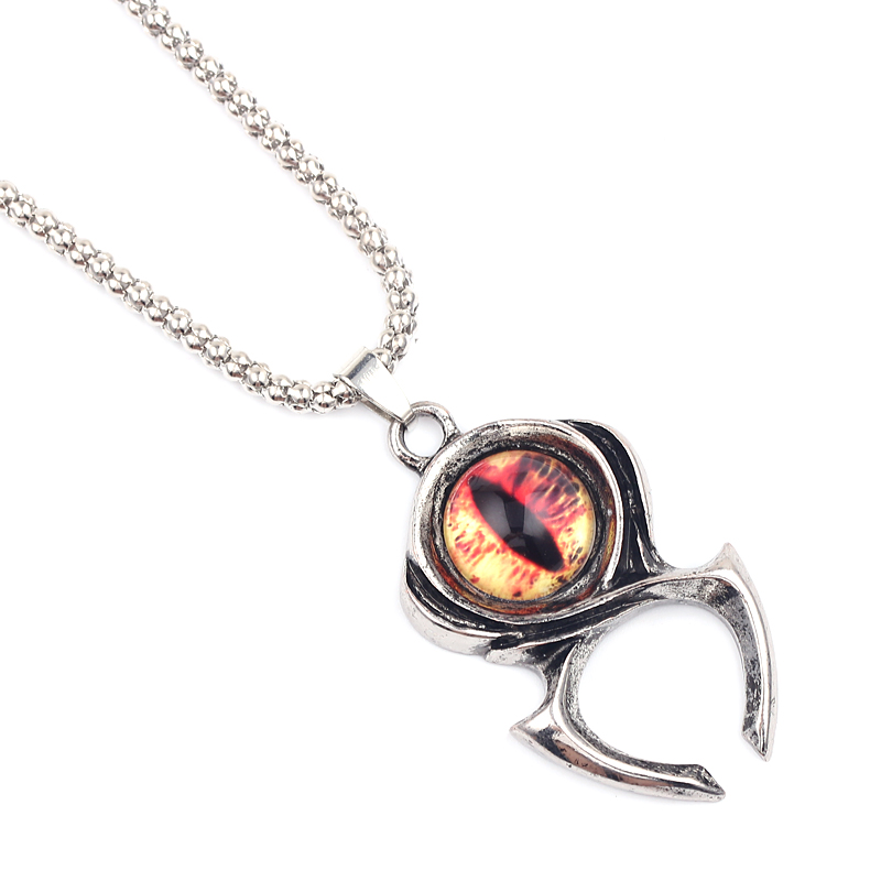 New Game Diablo 3 Hradi Keeper Guardian Ryan's Pendant Necklace Fashion Long Link Chain Jewelry Collier Gifts for Women Men Fans