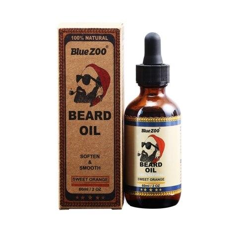 100% Natural Organic Face Beard Oil Soften Hair Growth Nourishing For Men Beard Grow Products Dropshipping Karachi