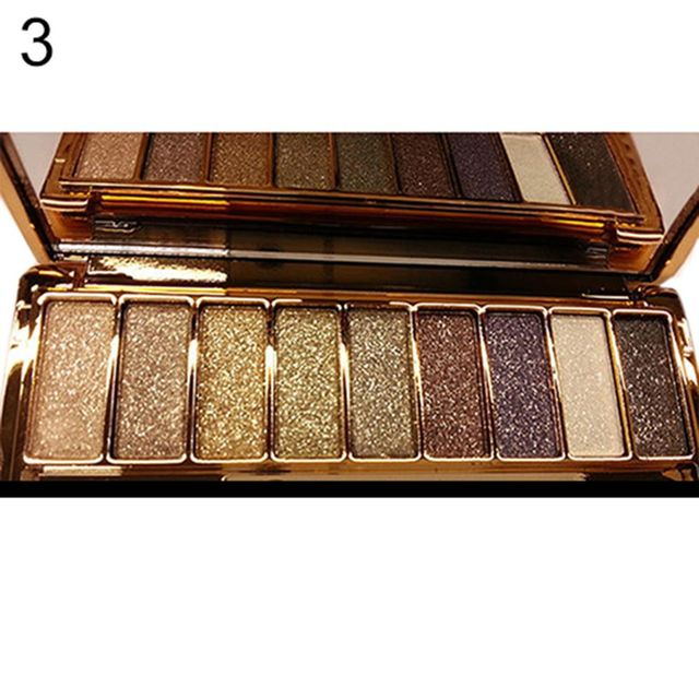 9 colors Fashion eyeshadow palette matte eyeshadow palette glitter eye shadow makeup nude makeup set Cosmetics dropshipping 3
