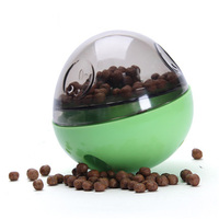 Our Pets Smarter Interactive IQ Treat Ball Dog Toy Pet Dog Puppy Chew Toys Ball Play For Training Thermal Plastic Ball Toy
