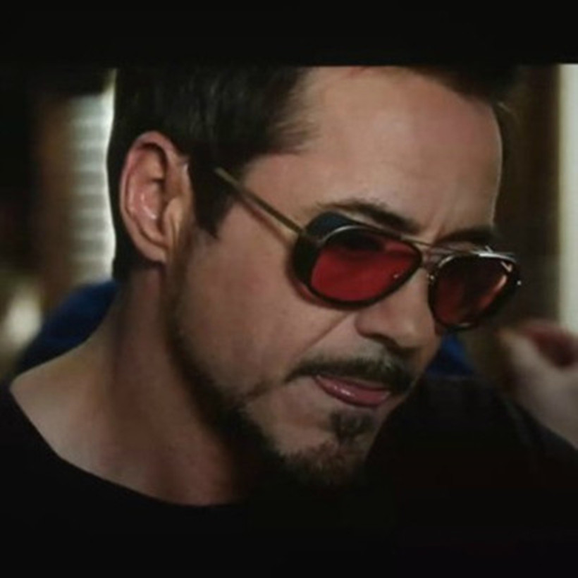 Oulylan Iron Man 3 Tony Sunglasses