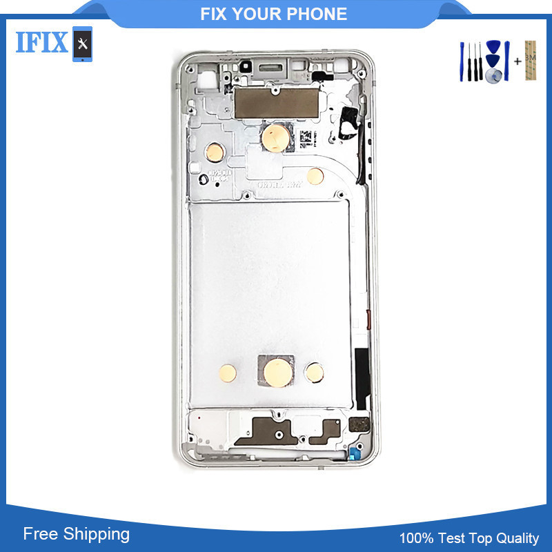 For LG G6 Front Bezel Faceplate Frame Cover Replacement Parts High Quality