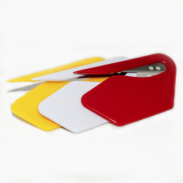 3pcs/lot Colorful Mini Plastic Durable Letter Opener Knife Paper Mail Envelop Cutter Office Equipment Supplies Safty Blade 00806