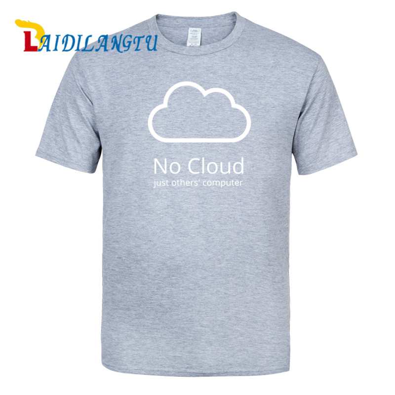 men clothes 2018 Computer Cloud T-shirts Creative Man Cotton Short Sleeve Summer Style Tee shirts New Casual Funny T shirts Boys ...