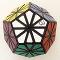 QJ Pyraminx Cristal Cubo Mágico Branco E Preto