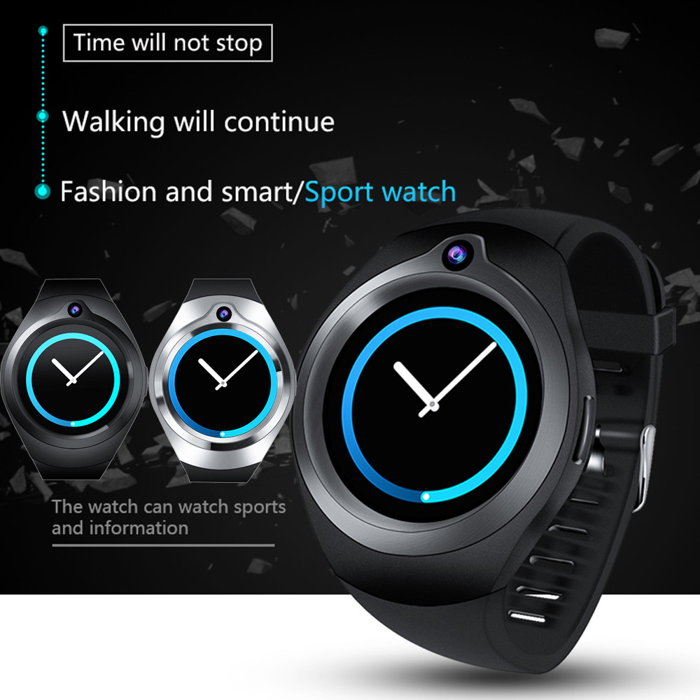 S216 GSM 512M+8G/1G+16G Quad Core Android 5.1 Smart Watch With 5.0 MP Camera Use WiFi smart watch men