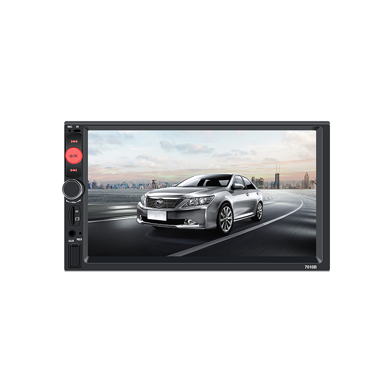 "Car Radio HD 7"" Touch Screen Autoradio 2 din Cassette Recorder Car Audio Bluetooth Rear View Camera MP5 Mirror Link Player 7010B"