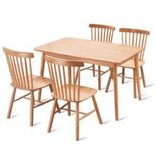 Виндзорский стул скандинавский обеденный стул из дерева домашний стул американский стиль простой Ресторан Кафе Ресторан стул