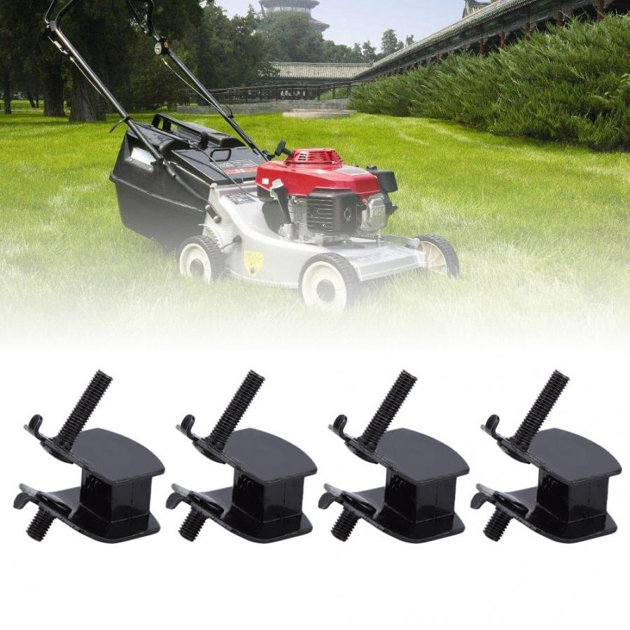4 pces anti vibração gerador de borracha almofada montagens do motor de borracha apto para honda cortador grama