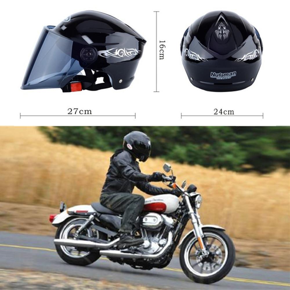 Chunmu casques de Moto Flip up double visières casque Racing Open Face Capacete Racing Moto Casco Une Taille casques de Moto