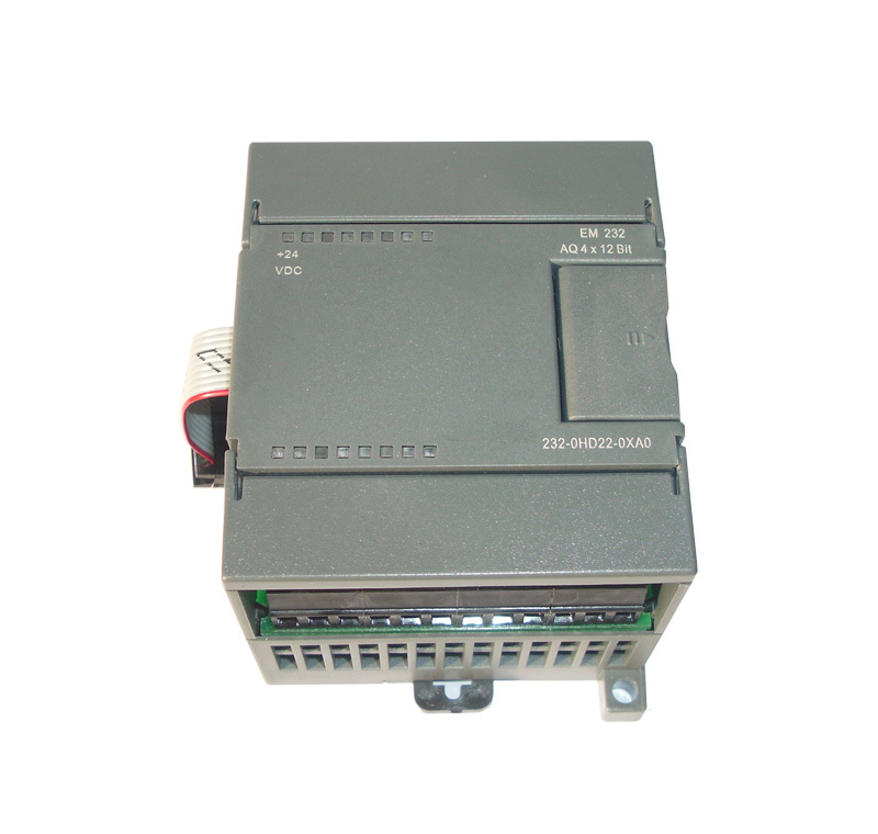 Analog module EM232-AQ4,4 output  compatible with S7-200, 6ES7 232-0HD22-0XA8 brand new s7 200 6es7223 1pm22 0xa8