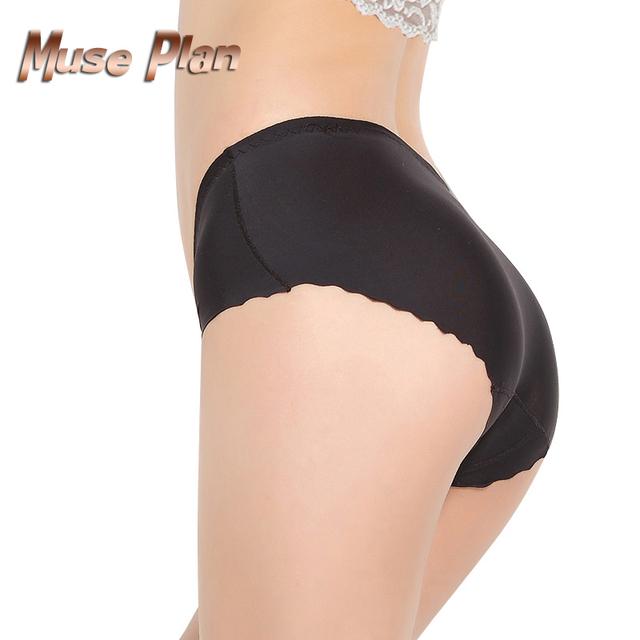 Summer style ice silk sexy briefs nylon underwear