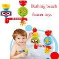 Bebê infantil pistola de água do chuveiro torneiras Banho água do banho conjuntos de brinquedos de praia para crianças