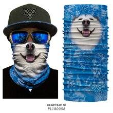 Scarf Headwear Headscarf-Bandana Neck-Warmer Bicycle-Head Half-Facemask Halloween Tube