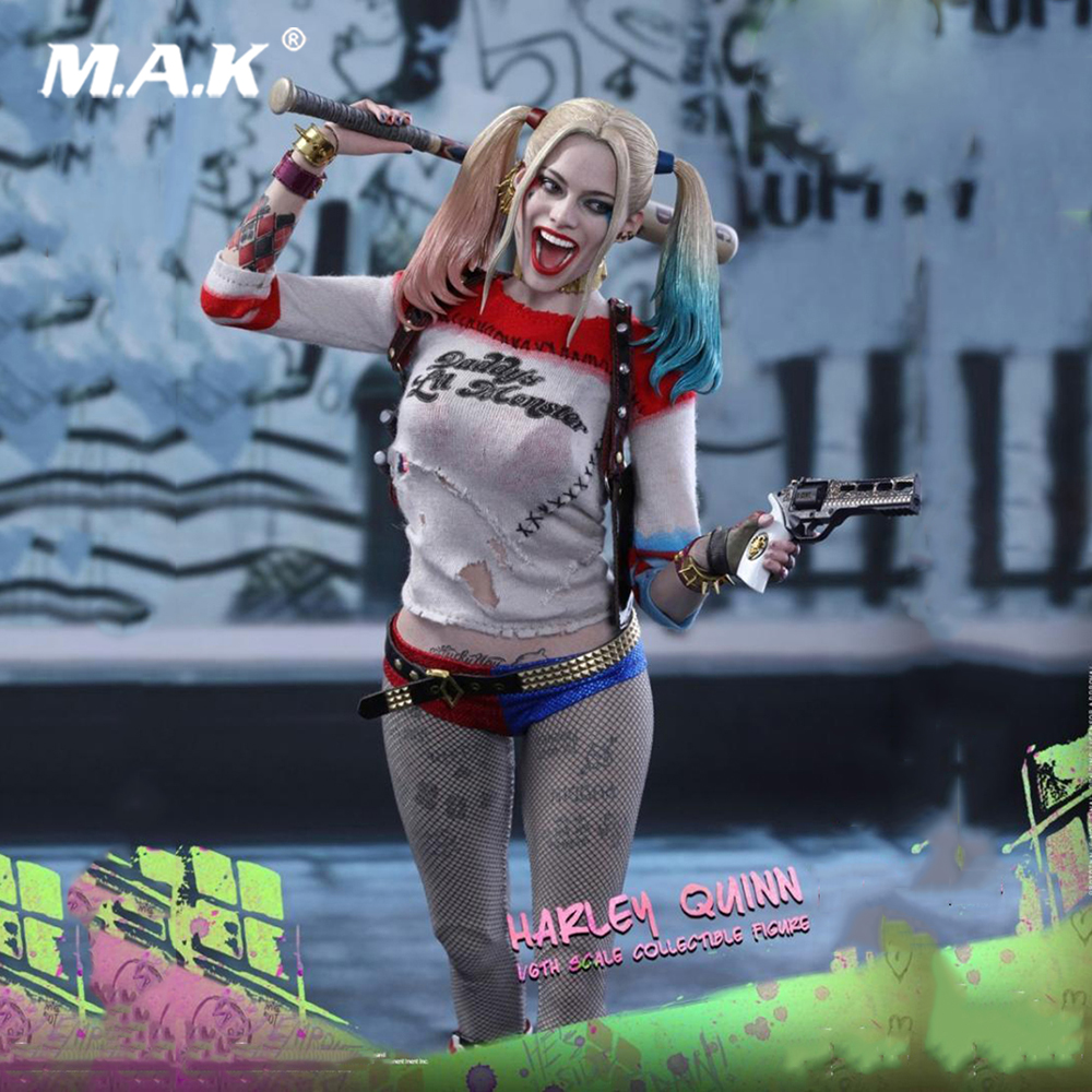 1:6 Scale Suicide Squad Harley Quinn MMS383 Full Set Action Figure Normal Version for Collections 1 6 scale avengers age of ultron wanda scarlet witch full set action figure war version for collections