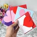 3 шт поздравительные открытки День Святого Валентина открытка с наклейки на конверте свадебные приглашения юбилей для нее милые подарки Го...