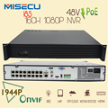 16CH POE NVR 1080P 1.5U Onvif POE Network 16POE Port Recording HDMI VGA P2P PC&Mobile View P2P WIFI 3G CCTV Surveillance kit