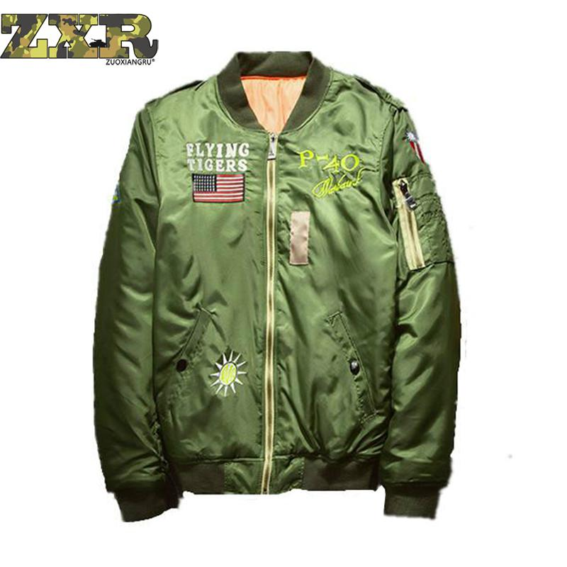 Ma1 Winter Bomber Jacket Men Army Air Force Pilot Fly Tactical Jacket Military Airborne Flight Warm Aviator Motorcycle Down Male striped trim fluffy panel bomber jacket