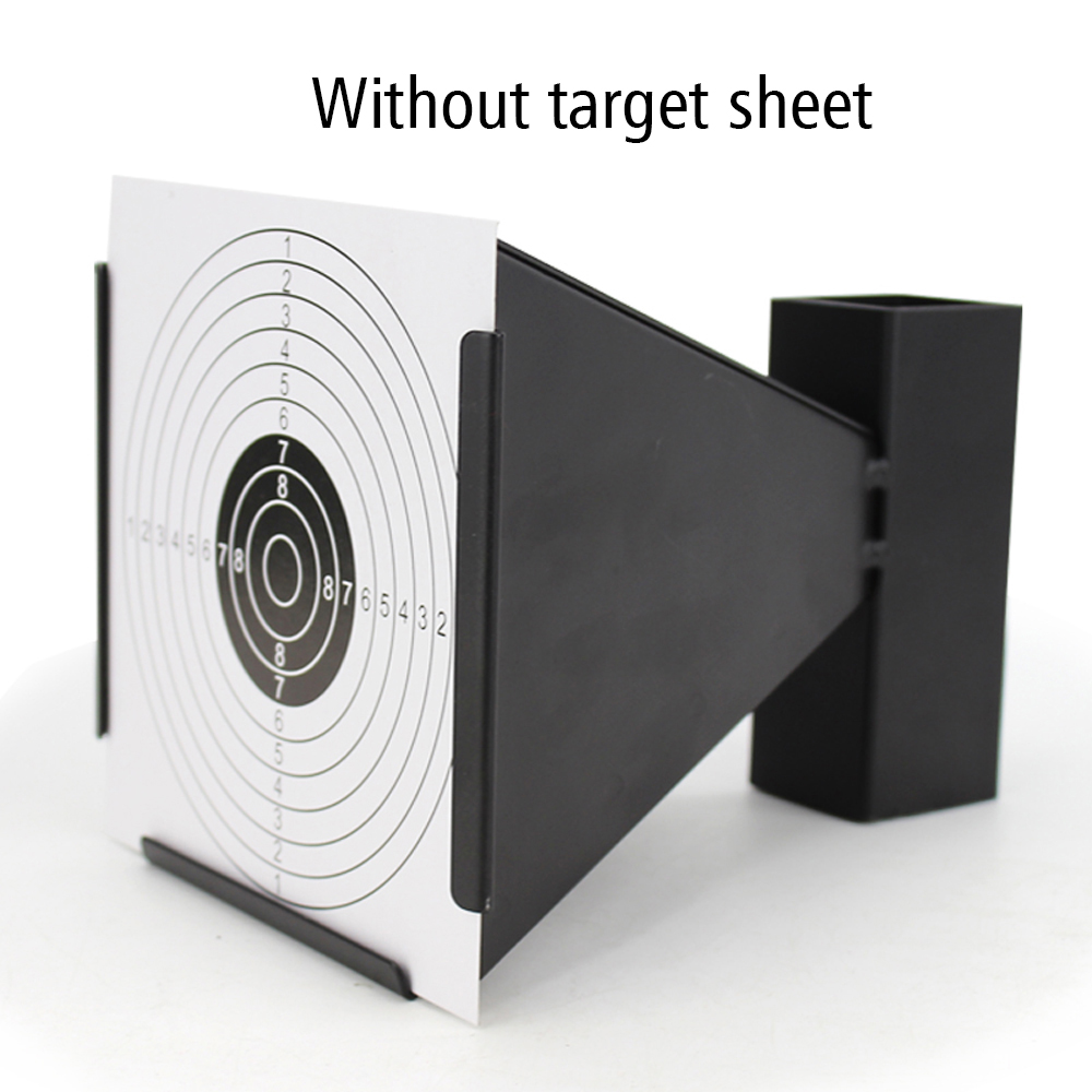 Shooting Target Outdoor Indoor Recyclable Metal Portable Funnel Type Firing Shooting Practice Wst Target