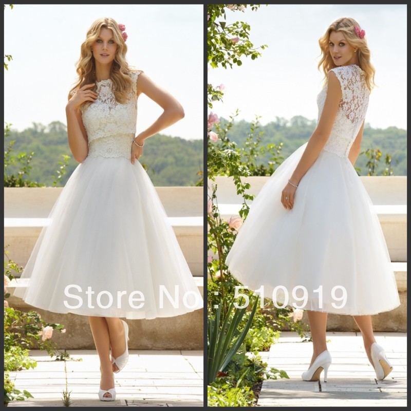 Free Shipping Hot Sale Appliqued Fluffy Ball Gown Ankle length ...
