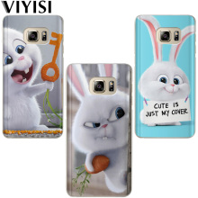 VIYISI Pet For Apple iphone 7 8 X 6 6S Plus case 5 5S SE Phone Case Soft TPU Silicone Back Rabbit Animal Dog Cover Coque  Shell