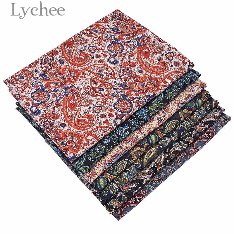 Lychee 150cm Width Vintage Paisley Fabric Ethnic Style Sewing Cloth Fabric DIY Handmade Materials For Garments