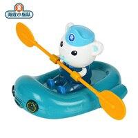original Octonauts Classic toy bath water toys Shark kayaking Buck Captain Rowing Kayak Children Toys Toy for children