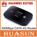 New Arrival Original Unlock 300Mbps CAT6 HUAWEI E5786 3G 4G WiFi Router With Sim Card Slot E5786s-32a 4G LTE  Mobile WiFi