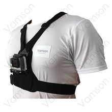 Body Harness Chest Strap Mount