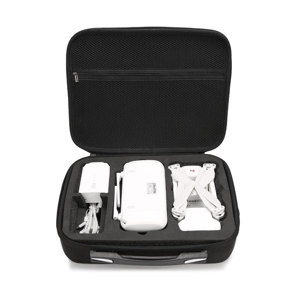 Black Suitcase Box Carrying Case Suitcase with Zipper Device Drone Accessories for Xiaomi X8SE Portable Waterproof Storage Bag