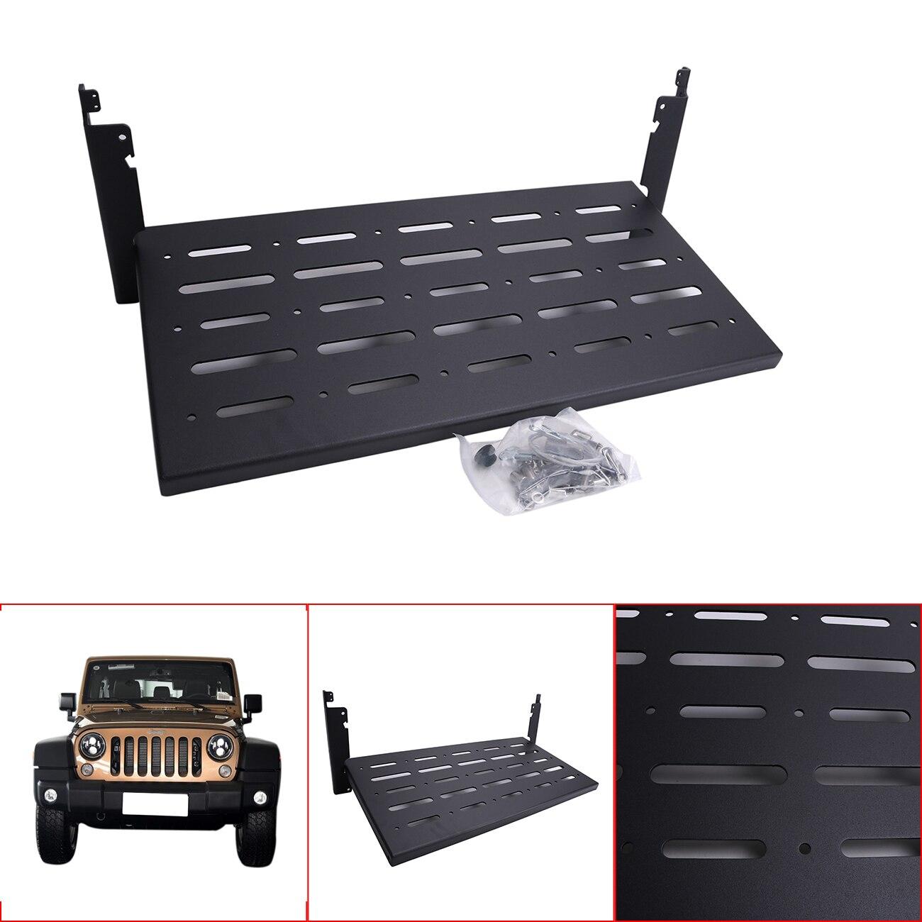 Për Jeep Wrangler JK 2007-2017 Raft raketash Transporti prej çeliku - Aksesorë të brendshëm të makinave - Foto 5