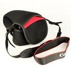 Case Cover Neoprene Camera Bag for Canon EOS 200D 1500D 1300D 1200D 100D 1000D 1100D 600D 700D 750D 760D 450D 550D 18-55mm Lens
