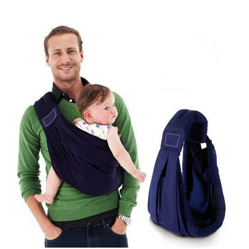 Baby Carrier Sling Backpack Suspenders Infant Toddler Wrap Bag Ecnomic Kid Sling Newborn Popular Organic Cotton Sponge