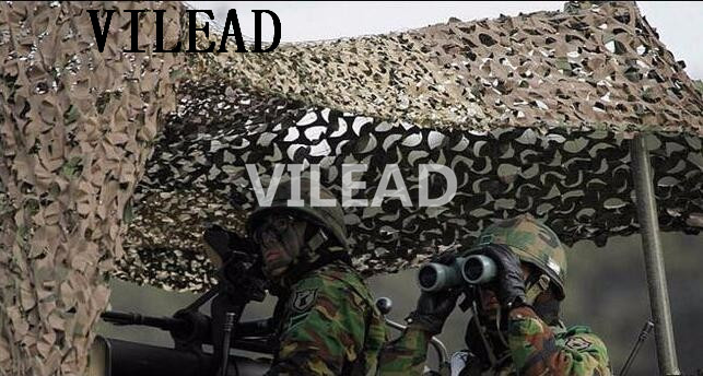 VILEAD 10M x 10M (33FT x33FT) Desert Digital Camouflage Netting Military Army Camo Net Sun Shelter for Hunting Camping Car Cover vilead 10m 33ft wide sea blue digital camouflage net military army camo netting sun shelter shade net for hunting camping tent