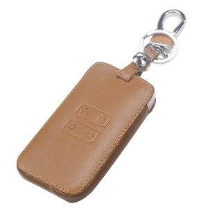 Image 3 - Jingyuqinรถหนังคีย์การ์ดฝาครอบCaseสำหรับRenault Koleos Kadjarกระเป๋าสตางค์พวงกุญแจผู้ถือProtector