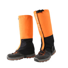Tuban Outdoor Shoes Cover Climbing Desert Sand Skiing Waterproof Shoe Cover for Snow Shin Guard keep shoes clean colorful hot