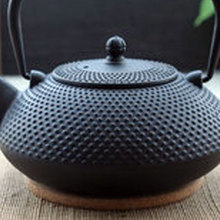 Фотография Free shipping cast iron teapot, good quality 300ml Japanese Iron Teapot Kongfu Tea Pot, tea kettle