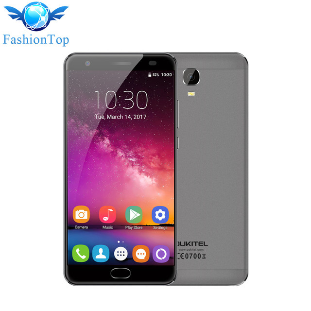 "OUKITEL K6000 PLUS Mobile Phone Android 7.0 5.5"" FHD Screen 4GB RAM 64GB ROM MTK6750T Octa Core 16MP Cam 6080mAh 4G Smartphone"