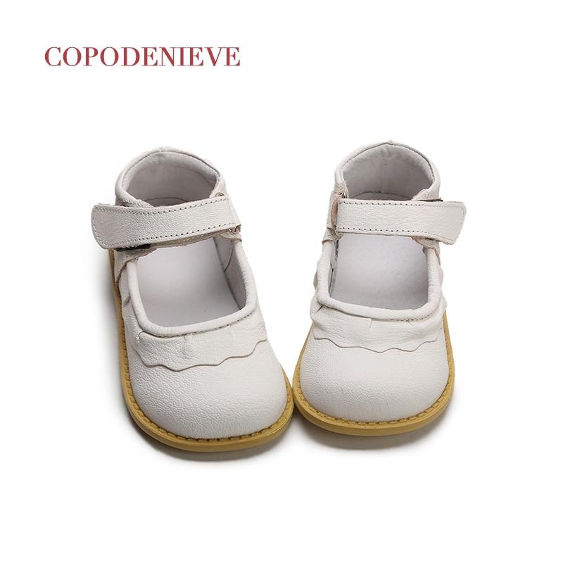 Copodenieve 2017 для маленьких девочек Обувь для детей обувь принцесса Hollo детской обуви