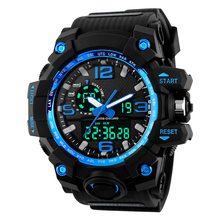 S-SHOCK LED Automatic waterproof watch Men Fashion Watch top quality mens famous clock army luxury wristwatch military vintage