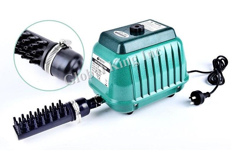 Elemental O2 Commercial Air Pump 2220GPH Aquarium Hydroponics Aquaponics Pond грипсы kellys kls advancer 2d 133мм кратон гель с заглушками grips kls advancer 2d lime 133 mm
