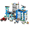 Mylb City Police Station Motorbike Helicopter Model Building Kits Compatible With City Blocks Educational Toys