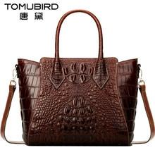 Tomubird роскошные женские топ-ручка сумки импортированы из воловьей кожи женская сумка старинные крокодиловой bolsos mujer de marca famosa 2018