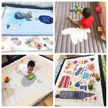 3cm Thickness Baby Play Mat Children Carpet 140x195x3cm Machine Washable Rugs For Living Room Anti Skid