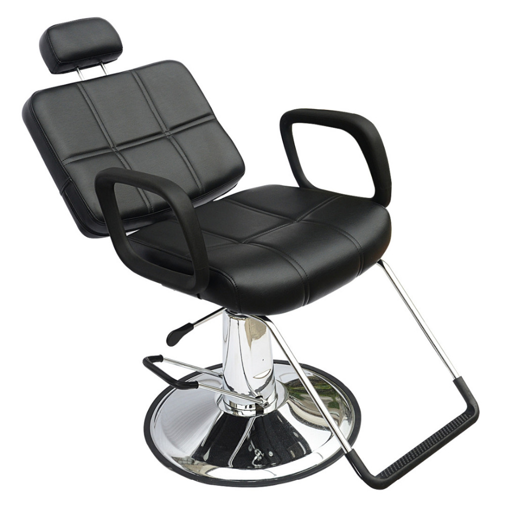 Black Barber Chair Shellhard Adjustable Reclining Hydraulic Hairdress Chairs Beauty Salon Equipment  sc 1 st  AliExpress.com & Online Get Cheap Hydraulic Reclining Chair -Aliexpress.com ... islam-shia.org